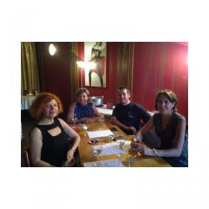 COURS D'OENOLOGIE + COCKTAIL DINATOIRE LA TOUR ROSE 26/06/2015