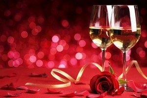 dîner romantique entre célibataires